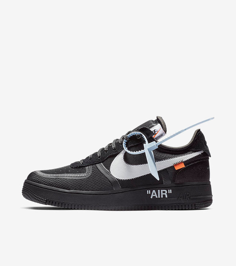 Nike x Off White Air Force 1 Black - DistriSneaks