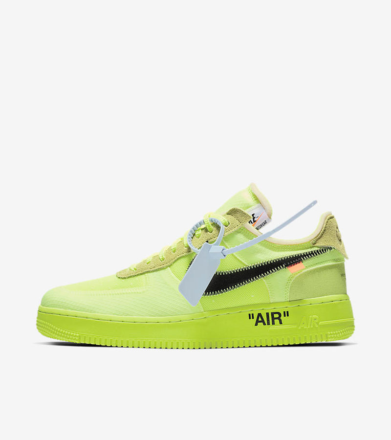 Nike x Off White Air Force 1 Volt - DistriSneaks