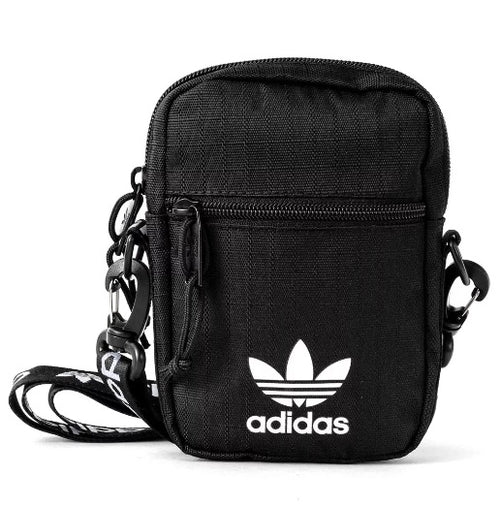 Adidas Shoulder Strap Festival Bag (Black) - DistriSneaks
