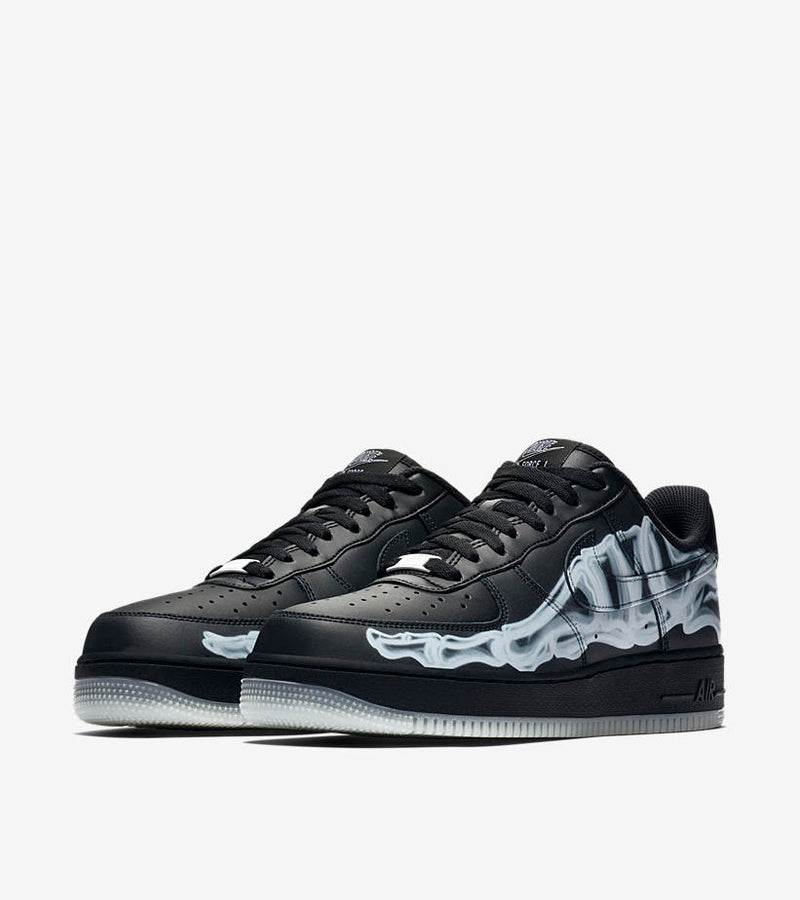 Nike Air Force 1 Skeleton Black - DistriSneaks