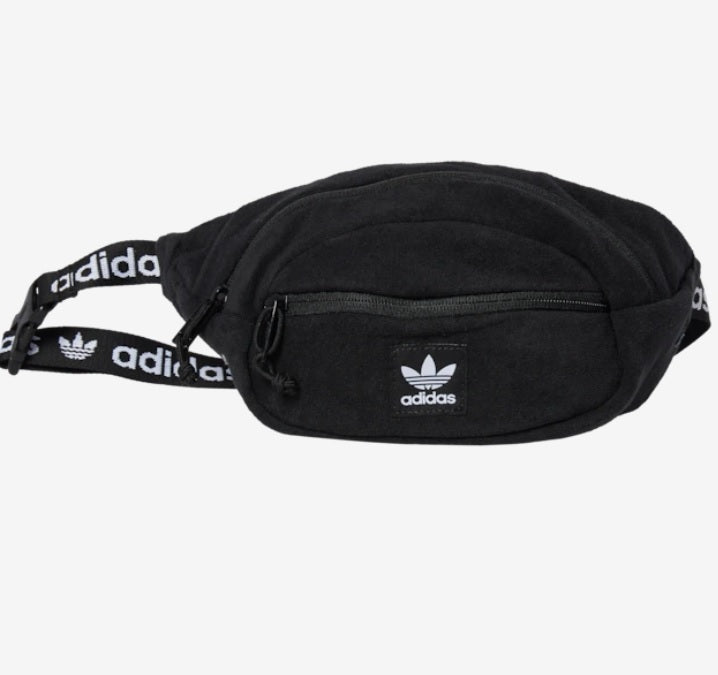 Adidas Terry Waist Pack (Black) - DistriSneaks