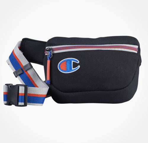 Champion Small C Logo Hipsack (Black) - DistriSneaks