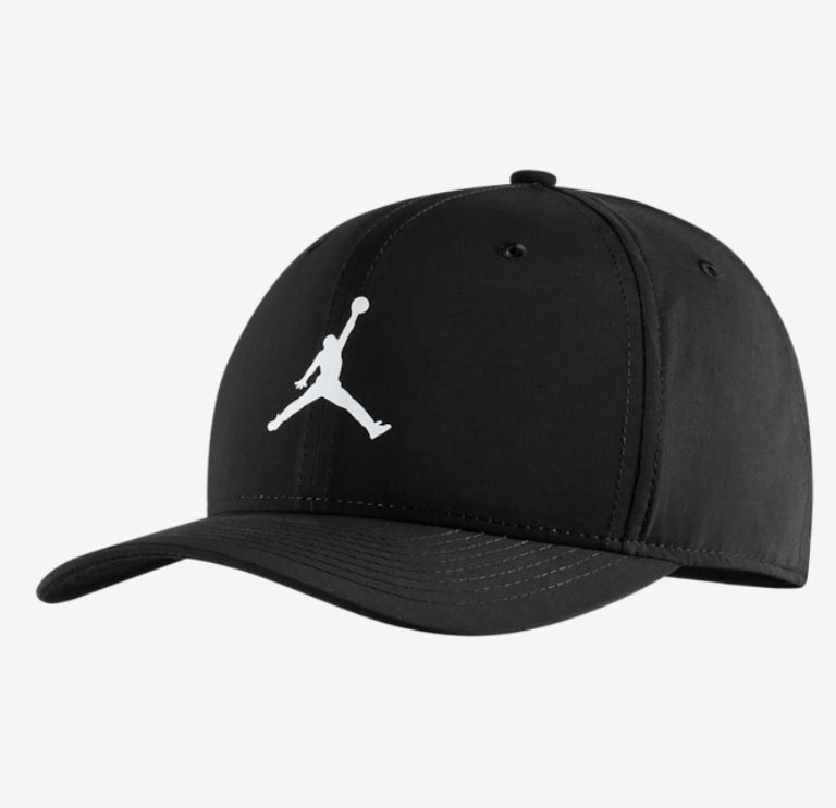 Jordan Basic Cap (Black / White) - DistriSneaks