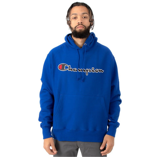 Champion Chainstitch Pullover Hoodie (Blue) (Mens) - DistriSneaks