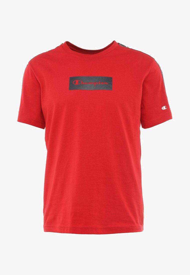 Champion Box Logo Tee (Red) - Men - DistriSneaks