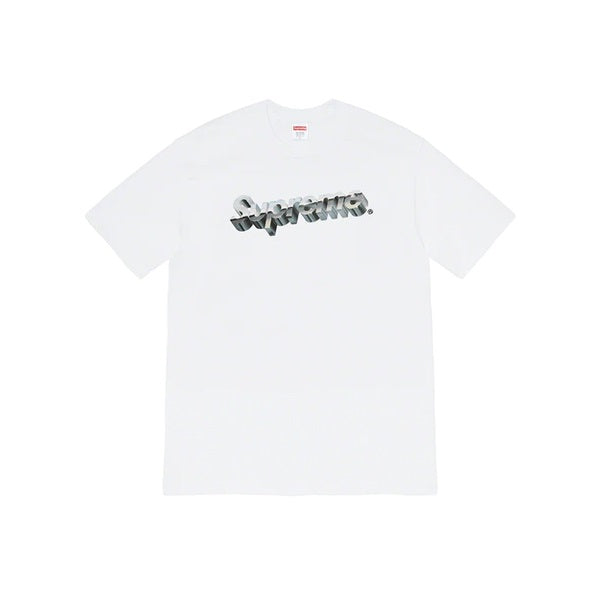 Supreme SS20 Chrome Logo Tee White