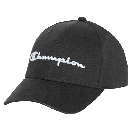 Champion Classic Twill Script Cap (Black / White / Pink / Blue / Red) - DistriSneaks