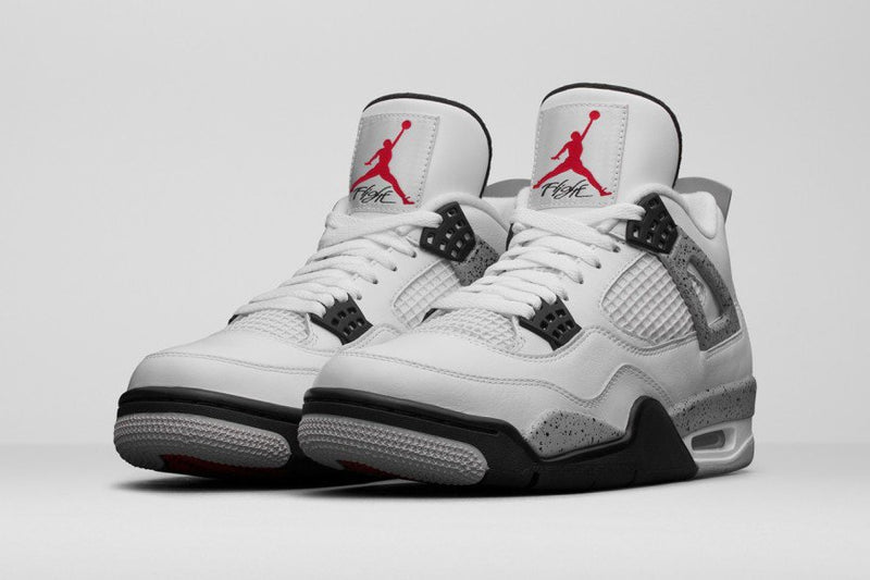 Nike Jordan 4 White Cement - DistriSneaks