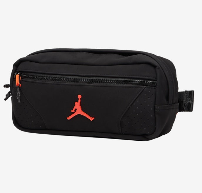 Jordan Jumpman Crossbody Bag (Black-Orange) - DistriSneaks