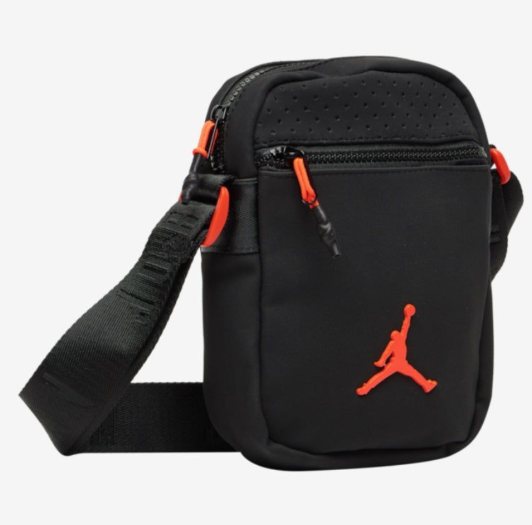 Jordan Air Festival Bag (Black-Red) - DistriSneaks