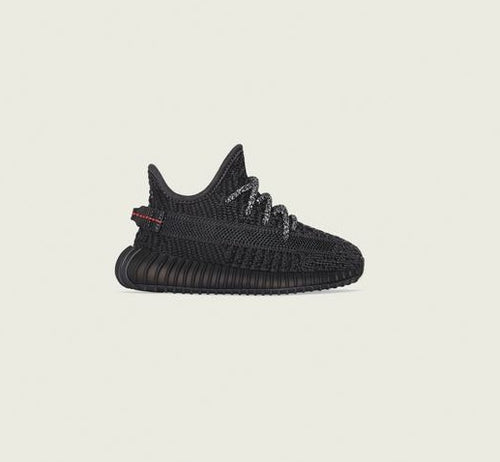 Yeezy 350 v2 Black (Toddlers and Kids) - DistriSneaks