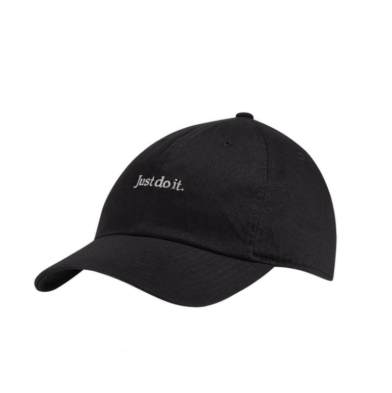 Nike Washed Just do It Cap (Black)