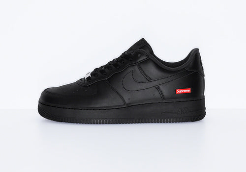 Nike x Supreme Air Force 1 Black (Preorder) - DistriSneaks