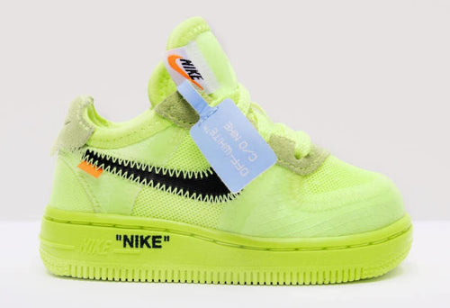 Nike x Off White Air Force 1 Volt (Toddler) - DistriSneaks