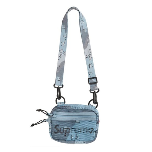 Supreme Small Shoulder Bag SS20 (Blue Camo) (Preorder) - DistriSneaks