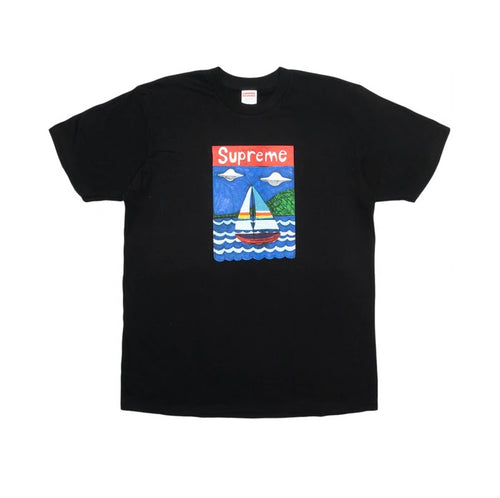 Supreme SS20 Sailboat Tee Black