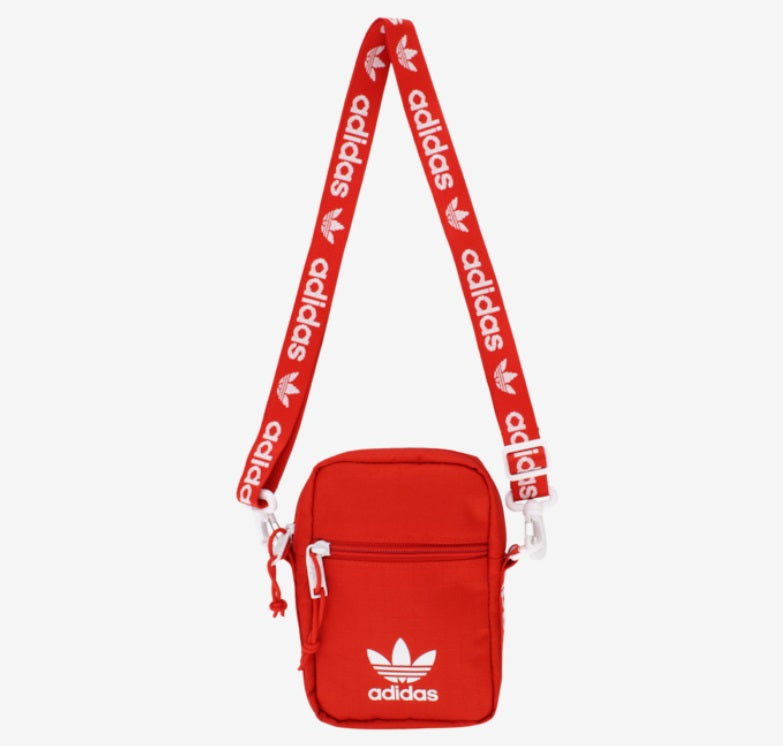 Adidas Shoulder Strap Festival Bag (Red) - DistriSneaks