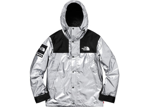 Supreme x The North Face Metallic Mountain Parka Silver - DistriSneaks