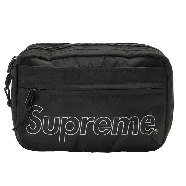 Supreme Shoulder Bag FW18 (Black) - DistriSneaks