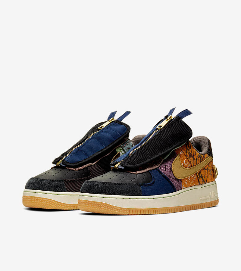 Nike Air Force 1 Low Travis Scott Cactus Jack - DistriSneaks