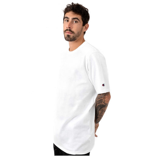 Champion Heritage Plain Tee (White) - Men - DistriSneaks