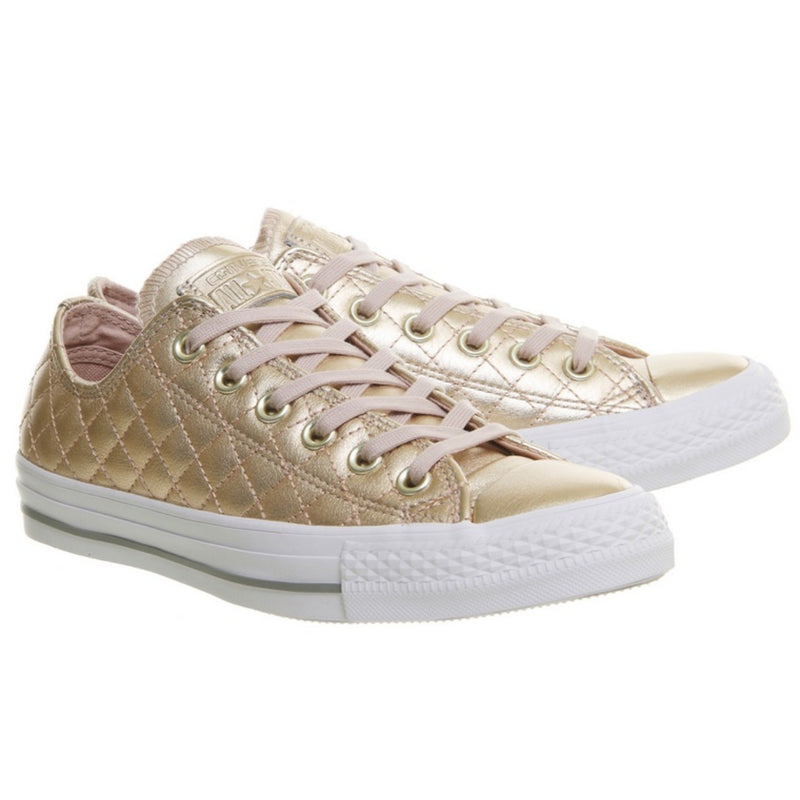 Converse Rose Gold Quilted Exclusive - DistriSneaks