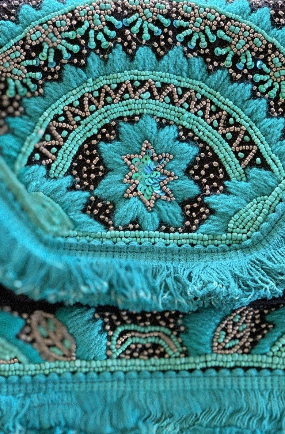 Teal Sea Handbag