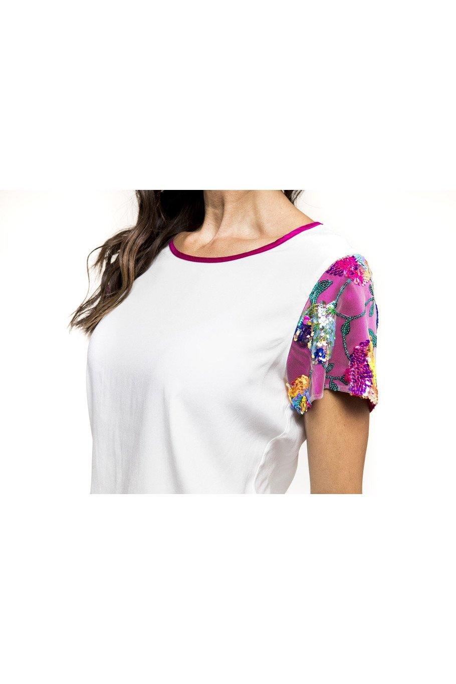 The Rutherford Silk Top