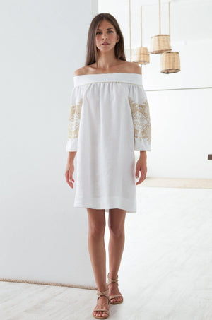 Anabel Off the Shoulder Dress