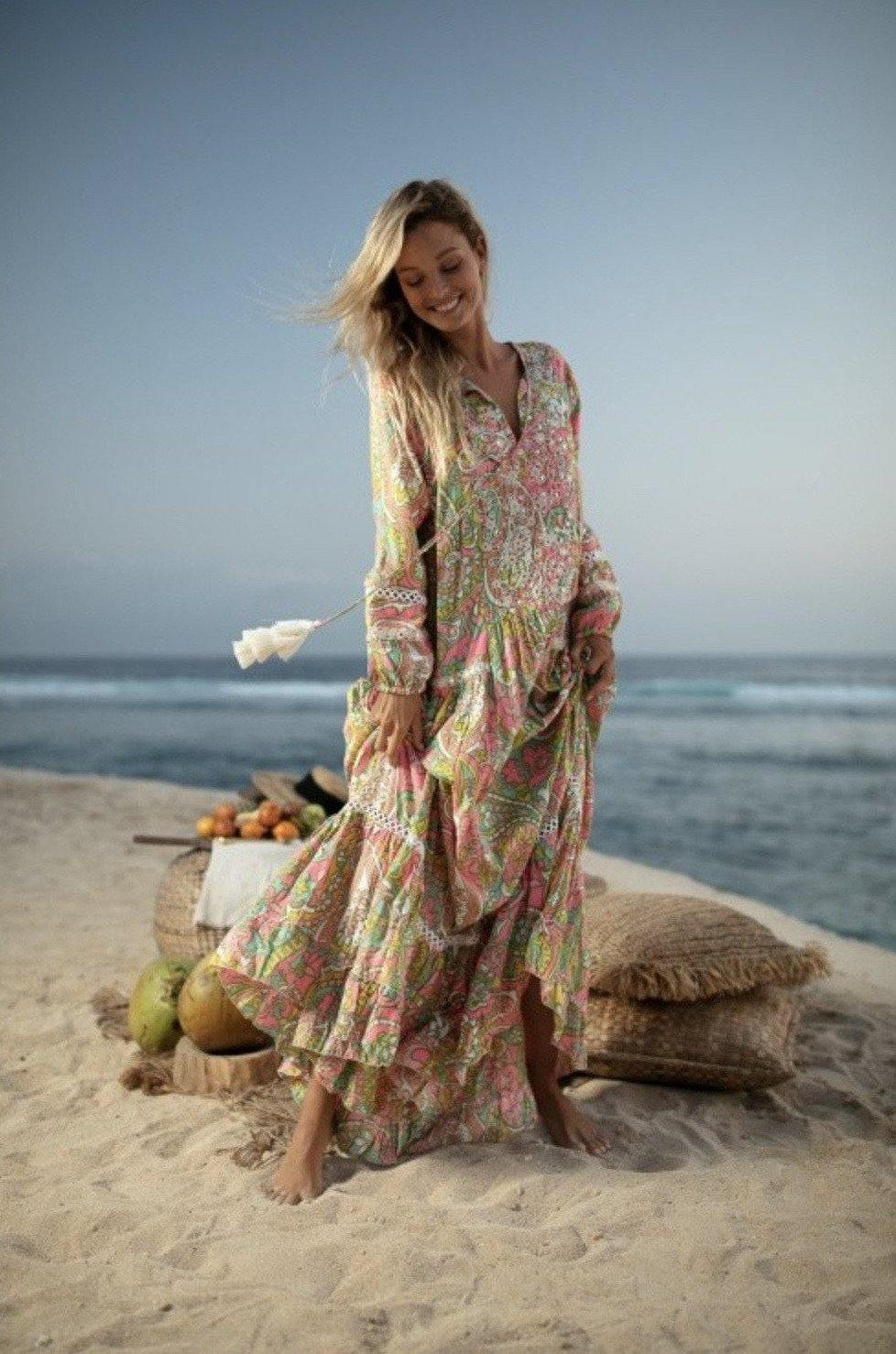 Boho Lilly Maxi Long Dress