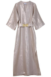 The Golden Kaftan Dress