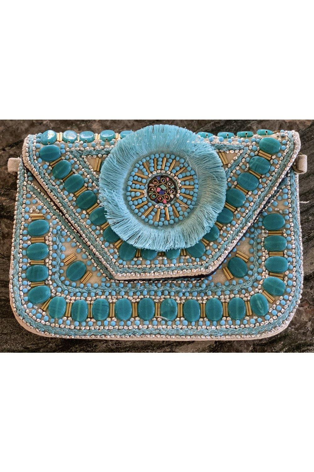 Teal Breeze Handbag