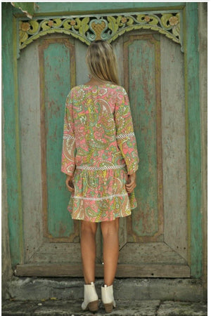 Boho Lilly Maxi Short Dress