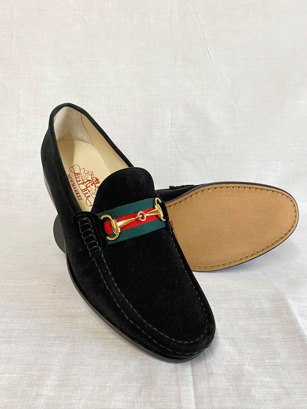 Black Suede with Band