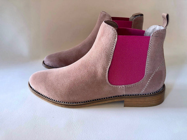 Dusky Pink Boot