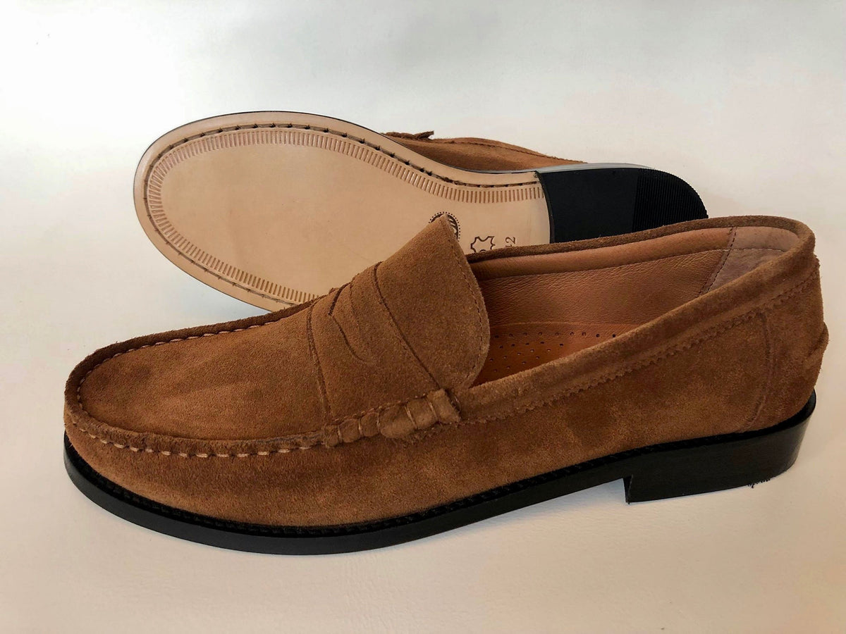 Roma Tan Suede
