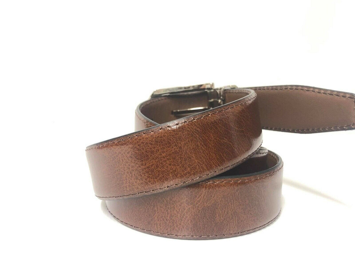 Tan Italian Leather Belt - Adjustable Size