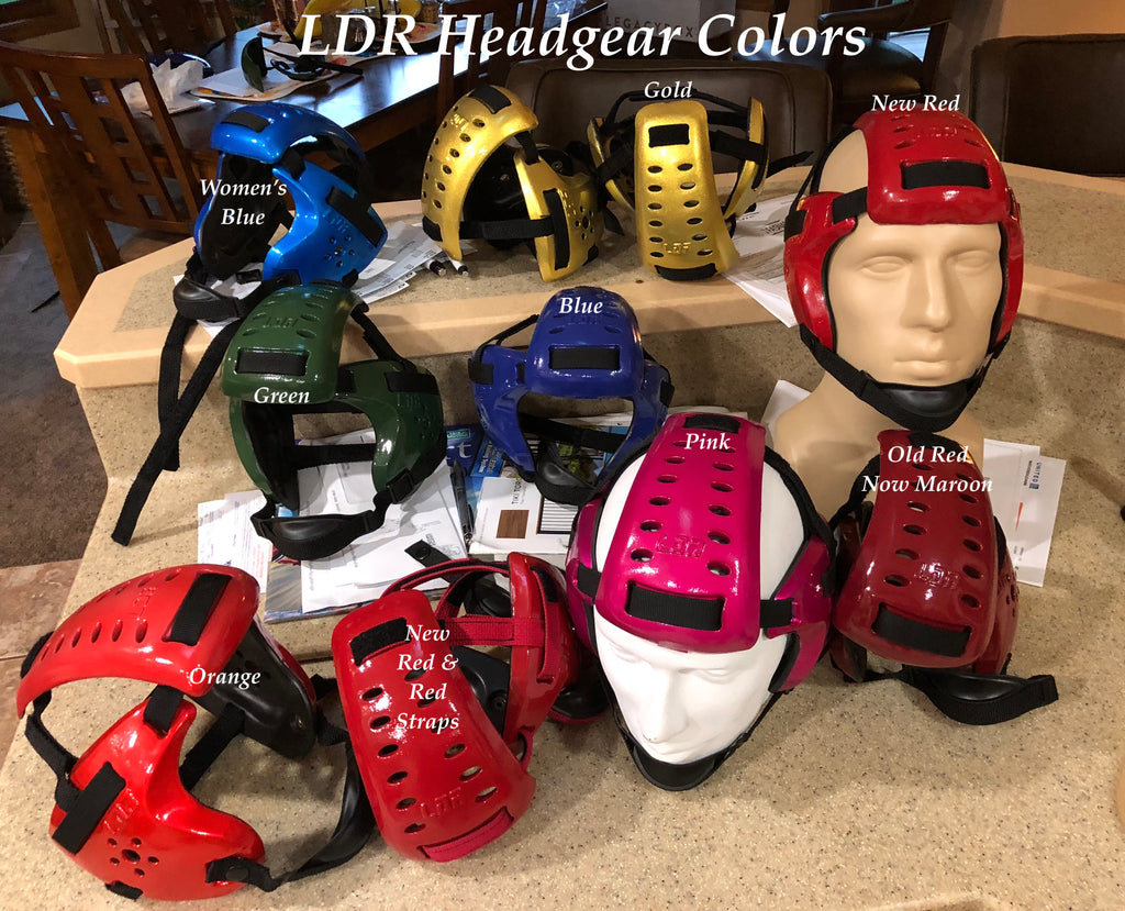 Exciting Wrestling Headgrear New Colors