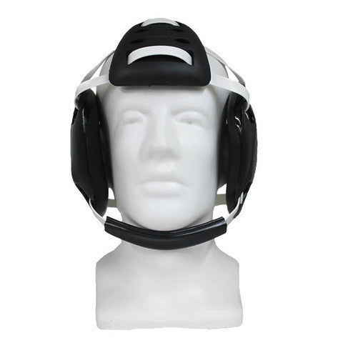 Wrestling Headgear,  LDR UNIVERSAL PAD  (Black, White & Gold) - LDR Headgear LLC