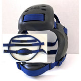 BLUE - WRESTLING HEADGEAR STRAPS