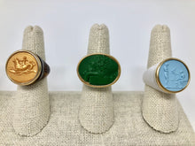 Italian Intaglio Ring - Color