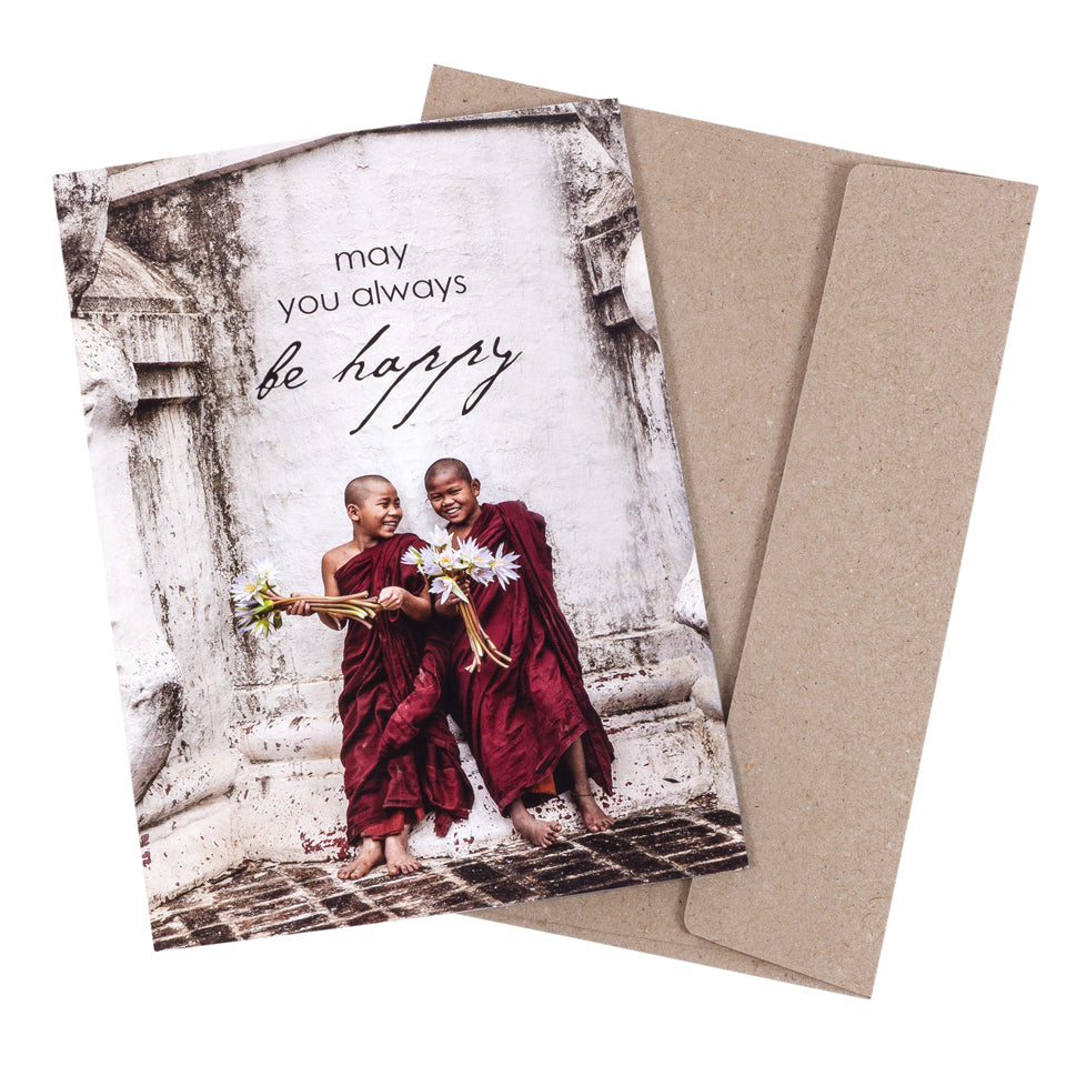 Card - Be Happy