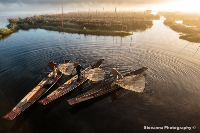 Fisherman, Early Morning Inle Lake