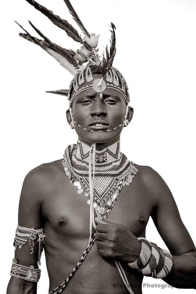Iman - Samburu warrior 2