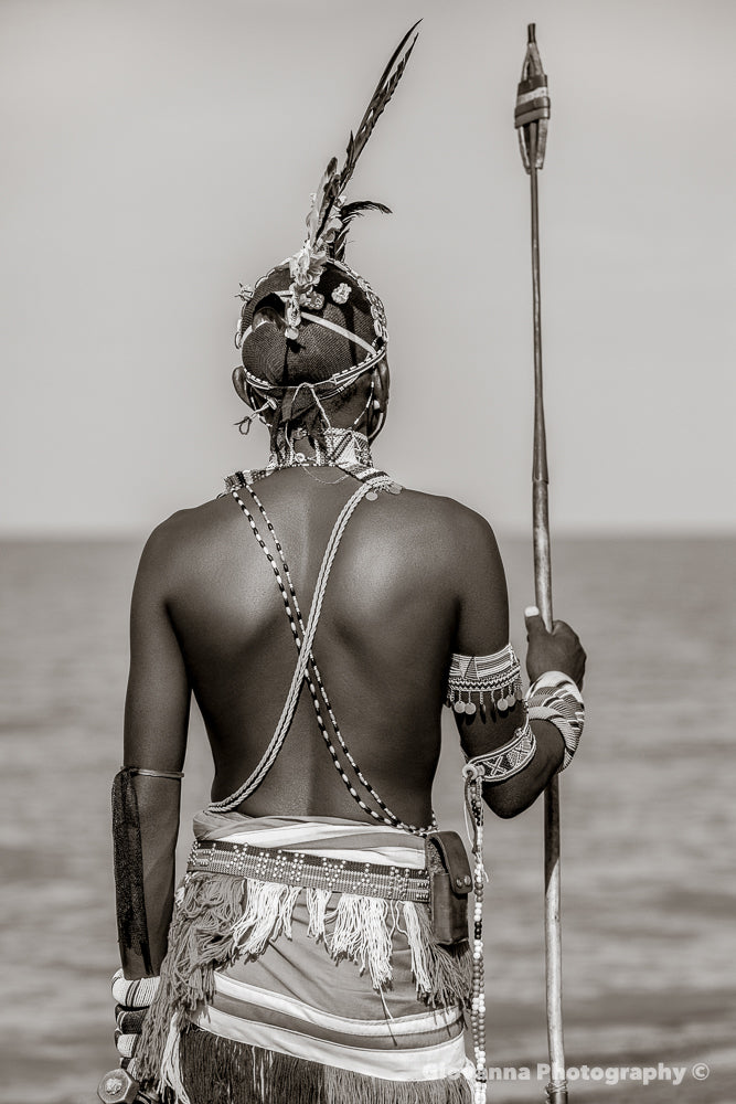 Iman - Samburu warrior 3