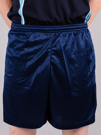 Plain Navy P.E. Shorts