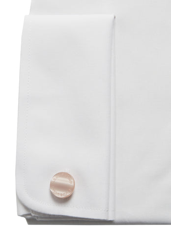 remus uomo 18300 white formal shirt