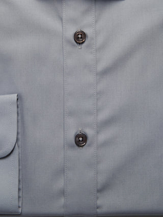 Tapered Fit Grey Shirt