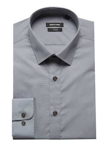 mens formal shirts grey