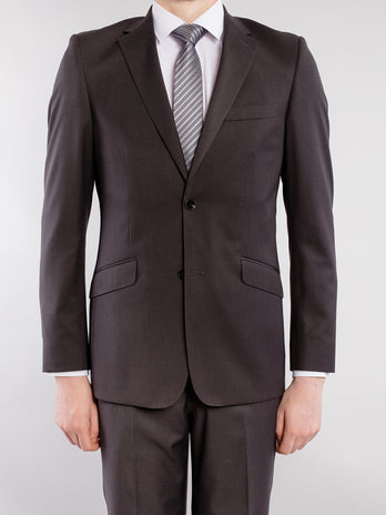 Classic Cut Charcoal Suit